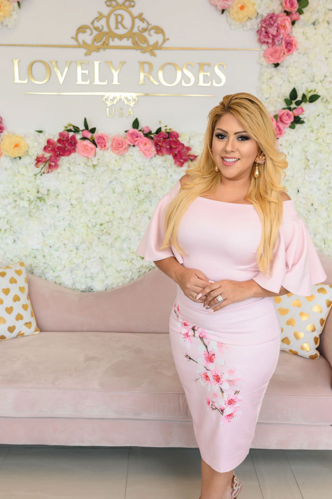 Erika Mejia- Founder of Lovely Roses